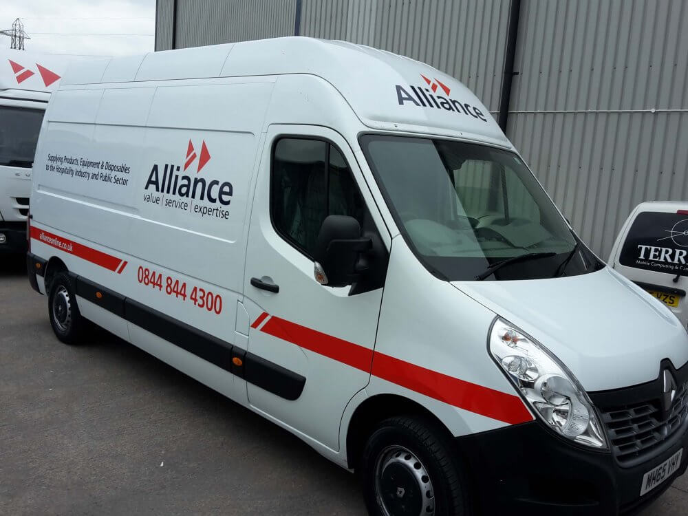Alliance van signwriting