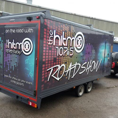 trailer wrapping