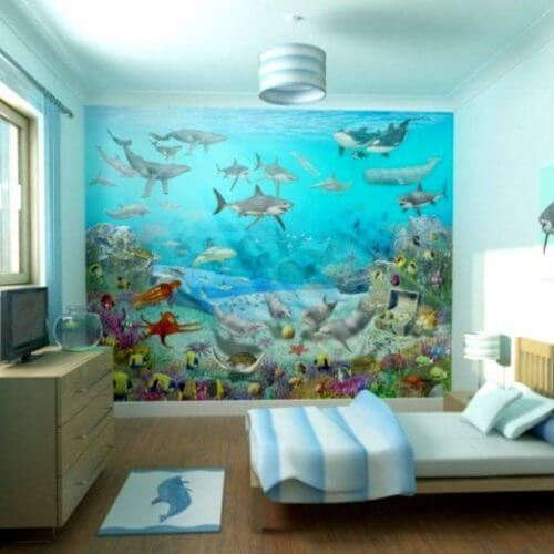 home wall murals