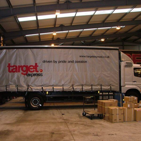 lorry signage