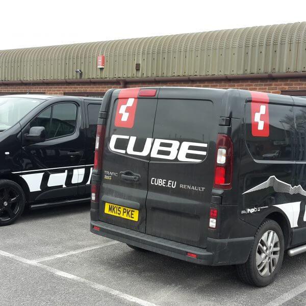 cube signage