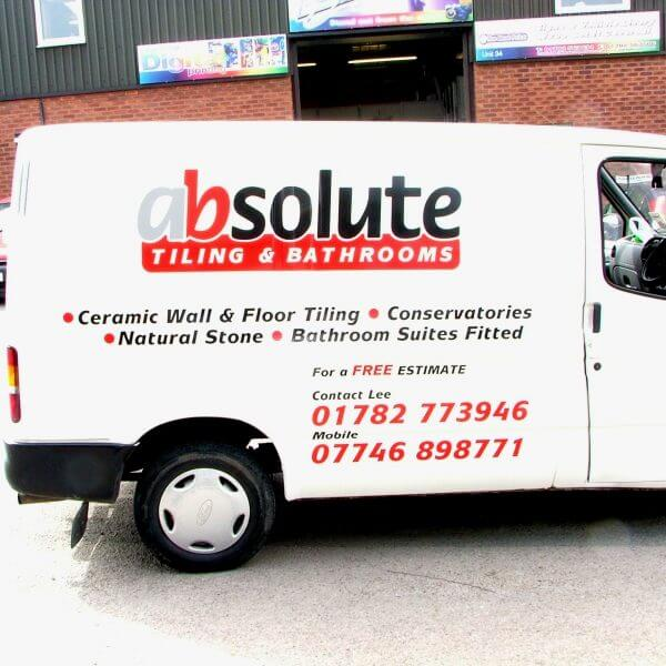 signage and livery stoke on trent staffordshire